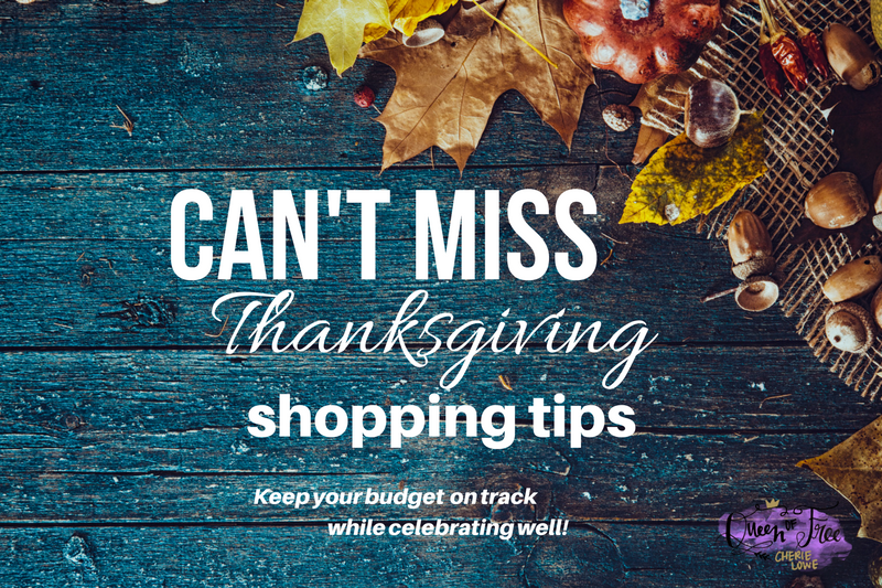 Can't Miss Thanksgiving Shopping Tips