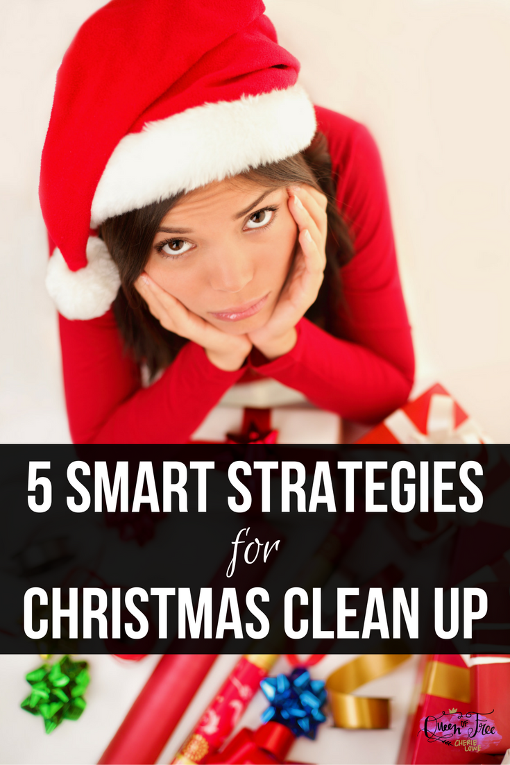 Make your season much memorable, organized, and on budget. These five simple, smart strategies make Christmas clean up a snap.