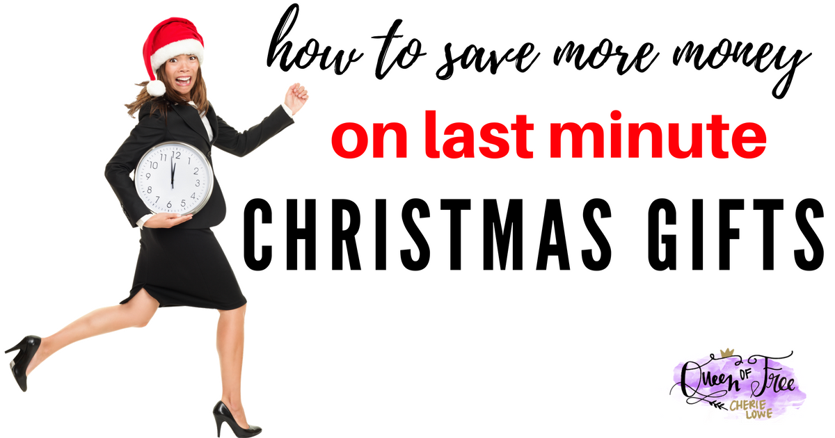 Live for the thrill of shopping in the final hours? Caught off guard this year? Save MORE money with last minute Christmas gift ideas!