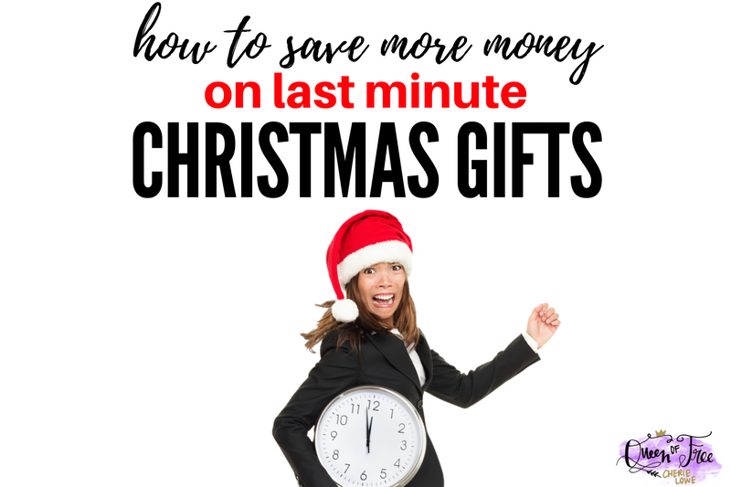 How to Save Money on Last Minute Christmas Gift Ideas