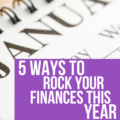 Happy New Year! This Personal Finance Checklist will help you achieve your money goals in the days ahead!
