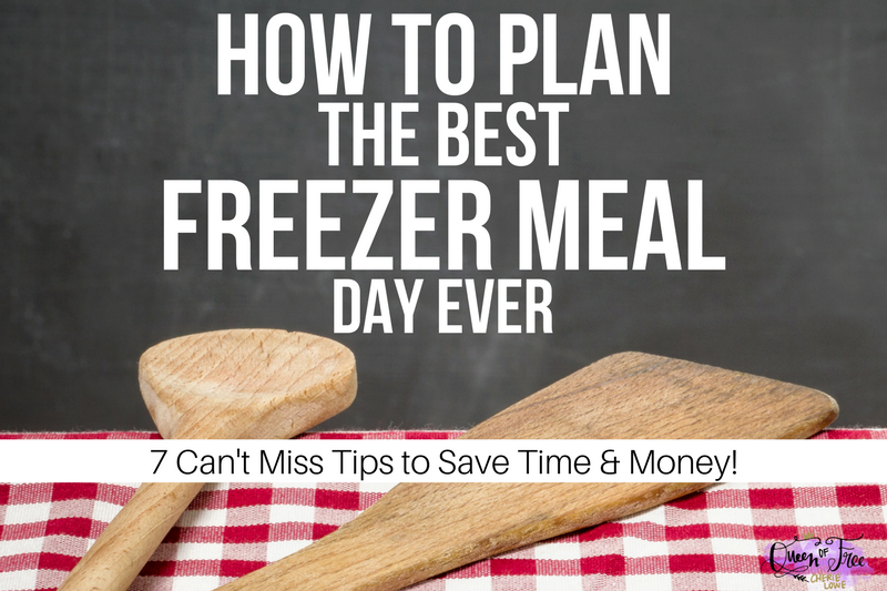 7 Can't Miss Tips For a Successful Freezer Meal Day