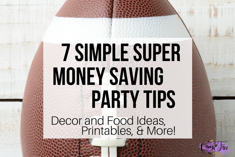 7 Super Simple Super Bowl Money Saving Tips