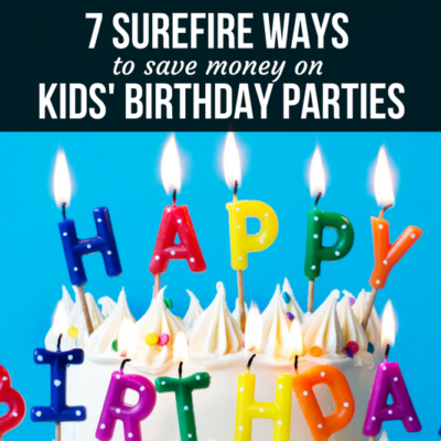 Celebrating your child while sticking to your budget? Check out these surefire ways to save money on kids' birthday parties!