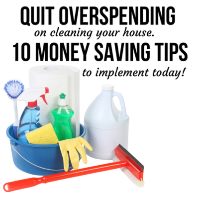 Keeping it clean doesn't have to cost hundreds of dollars. You'll wish you learned these frugal spring cleaning tips years ago!