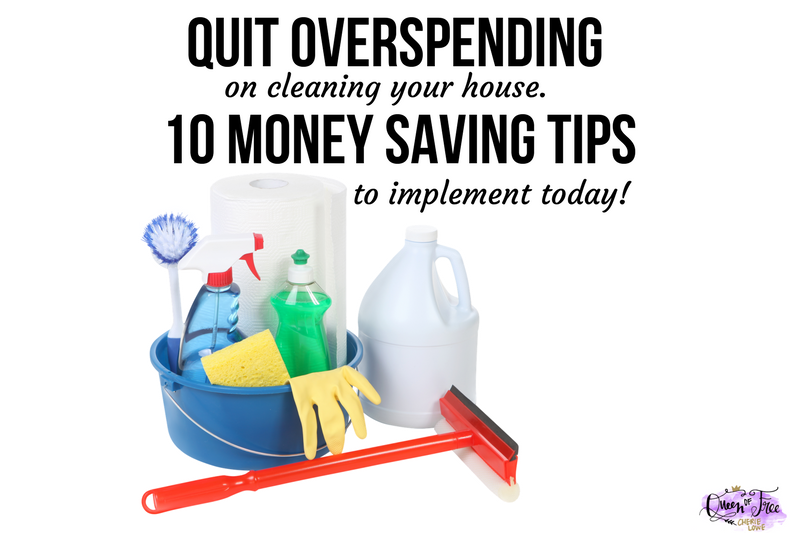 10 Fantastic Frugal Spring Cleaning Tips