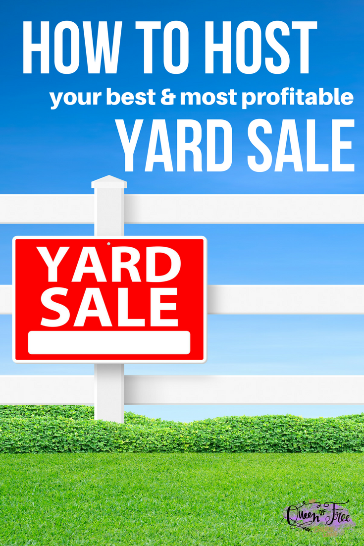 Want to clear the clutter and make some cash? Don't miss these out of the box tips for hosting a profitable yard sale this year!