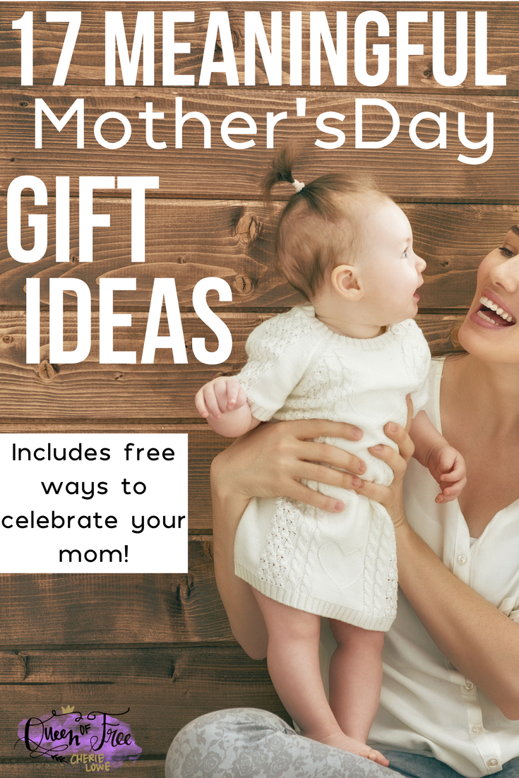 Show mom just how well she raised you by giving her a meaningful AND affordable Mother's Day! Many of these ideas are FREE.