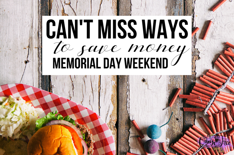 7 Can't Miss Ways to Save Money on Your Memorial Day Weekend