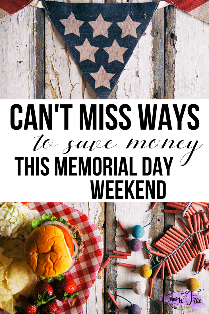 7 can 39 t miss ways to save money on your memorial day for Memorial day weekend ideas