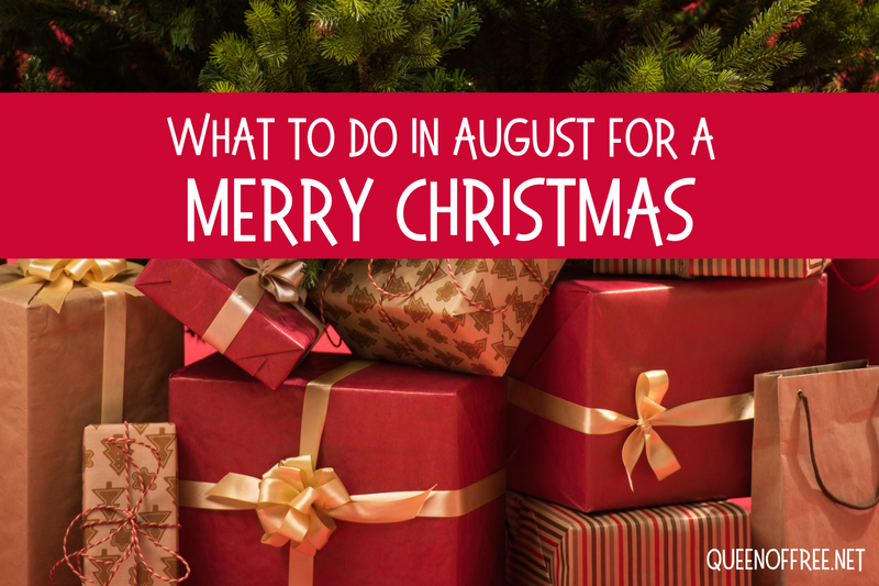 What to Do in August for a Merry Christmas