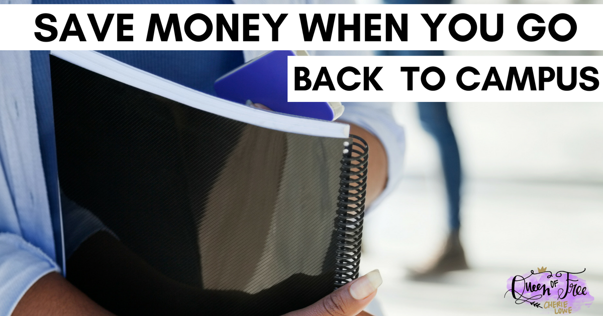 Heading back to campus doesn't have to break the bank. Save Money on College expenses with these smart, simple strategies.