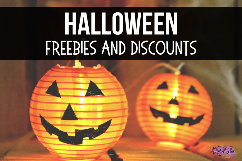 Halloween Freebies and Discounts