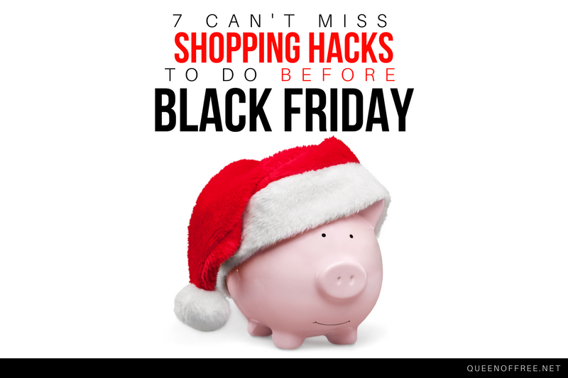 7 Can't Miss Black Friday Shopping Hacks