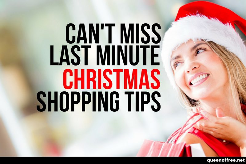 The Best Last Minute Christmas Shopping Tips