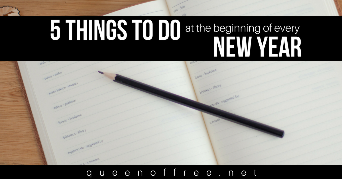 Begin the new year well! Use this smart checklist at the beginning of every year to set goals you'll really achieve this time.