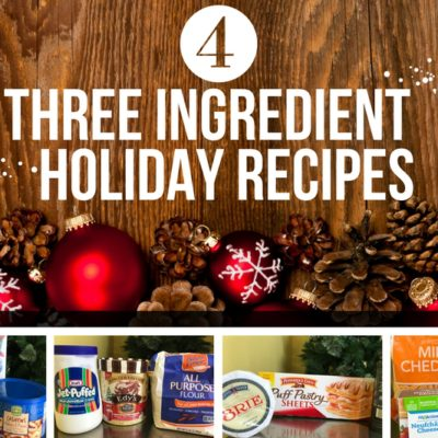 Save time and money this holiday season! Check out these recipes for three ingredient Christmas snacks sure to please everyone.