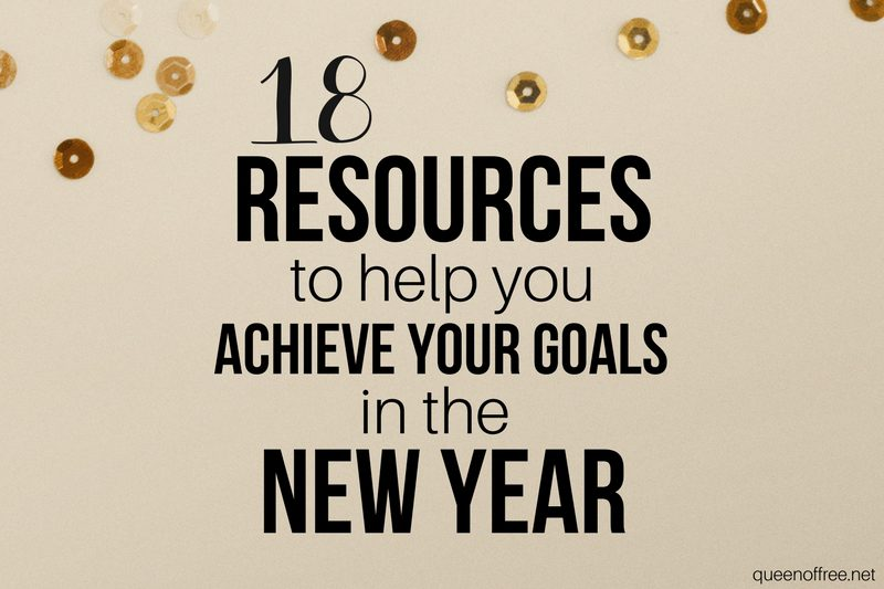 18 Resources for Your New Year Goals