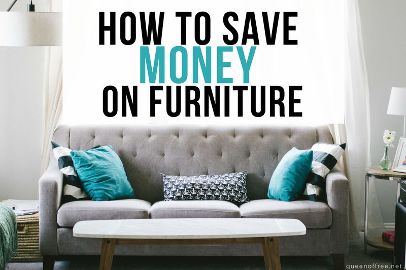 How to Save Money on Furniture