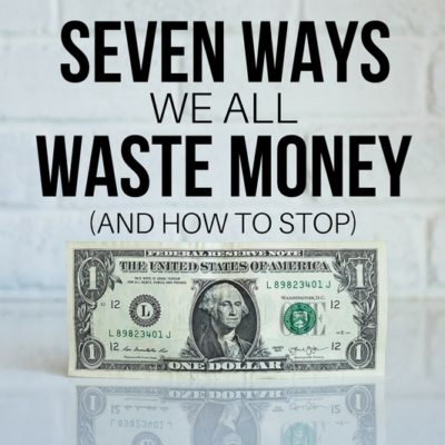 Take charge of your money and stop squandering your hard earned cash. Quit wasting money and start doing what you love with it instead!