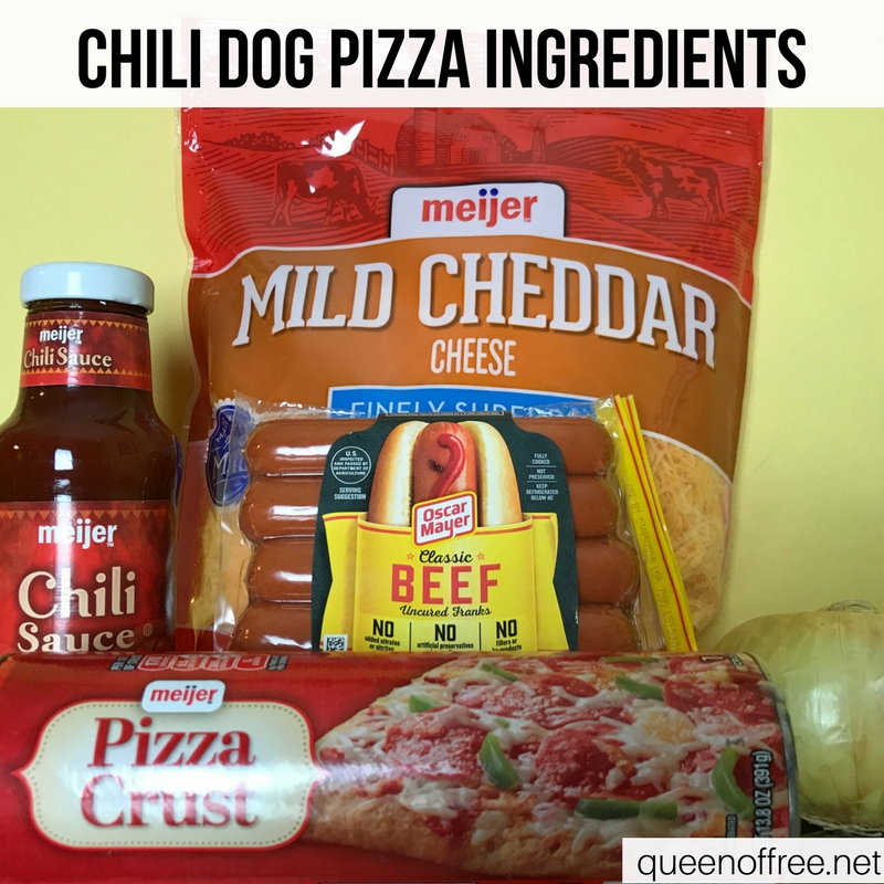 WOW! Chili Dog Pizza is a hit for Super Bowl fun. Check out the recipe plus three other quick, affordable, & easy ideas.