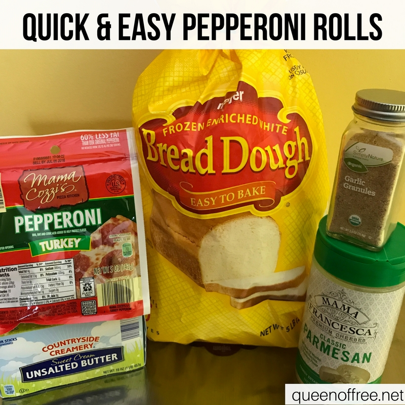 WOW! Homemade Pepperoni Rolls are a hit for Super Bowl fun. Check out the recipe plus three other quick, affordable, & easy ideas.