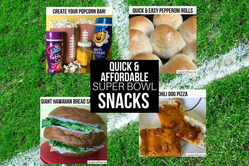 4 Quick & Easy Game Time Snacks