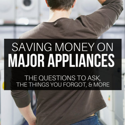 Take the guess work out of shopping for major appliances with these can't miss tips. Save more money while making a purchase to last.