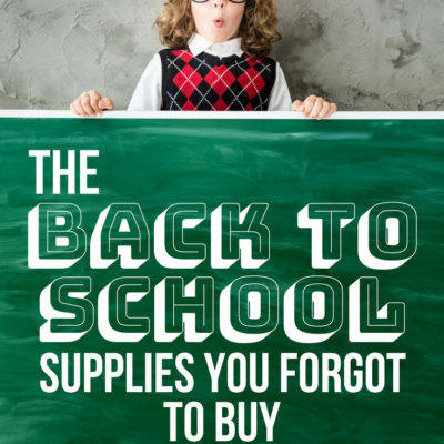 Oh no! You forgot to purchase crucial school supplies for the new year. Find out what they are STAT before it's too late.