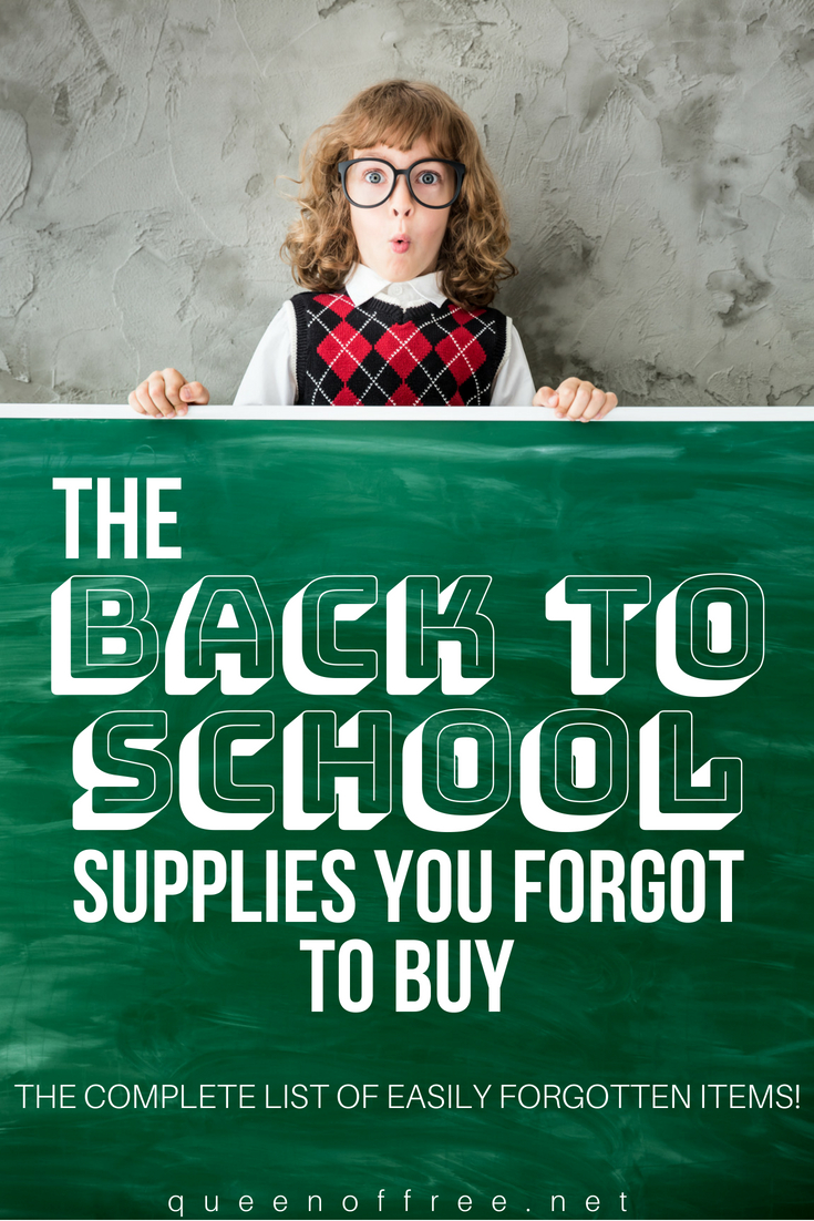 The Back to School Supplies You Didn't Know You Needed