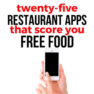 WHAT?! You can get FREE food just by downloading these restaurant apps? Check out which places have the best freebies & more!