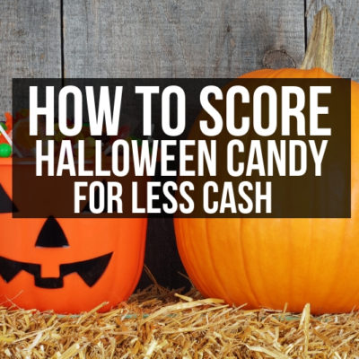 Don't scare your budget! Spend Less on Halloween this year with these quick and simple tips for saving money on candy favs!