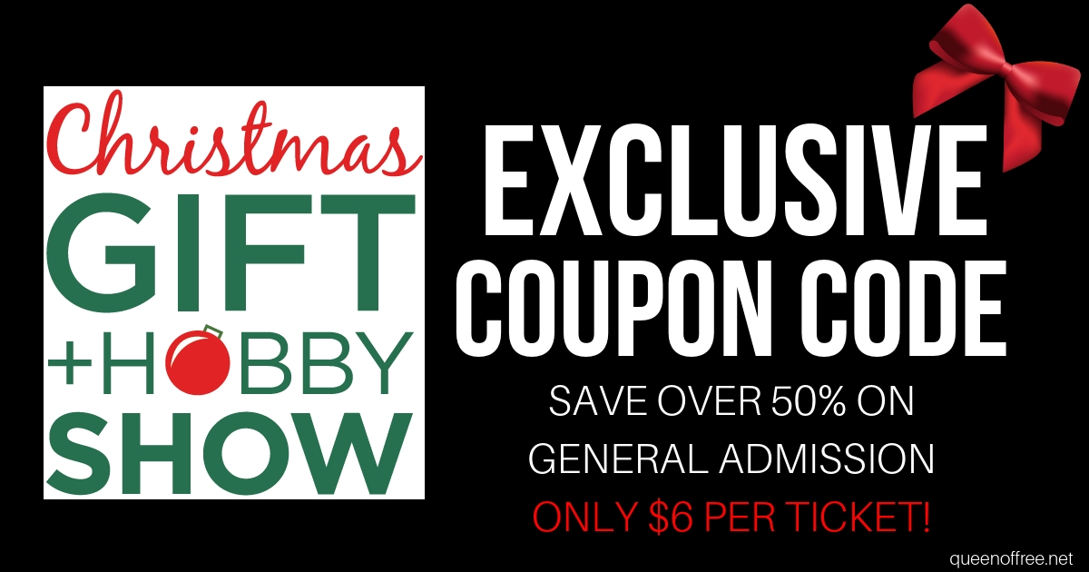 Exclusive Christmas Gift Hobby Show Coupon Code Queen Of Free