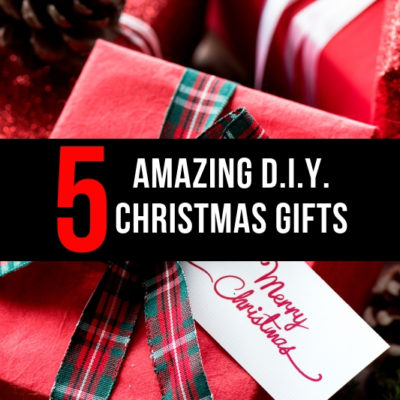 YES! I love these ideas. 5 D.I.Y. Christmas Gifts that are affordable, easy, and meaningful. PLUS when you shouldn't D.I.Y.!