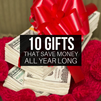 Give a gift (or ask for a gift) that keeps on giving all year long - as in giving you more money!!! What an amazing idea this Christmas.