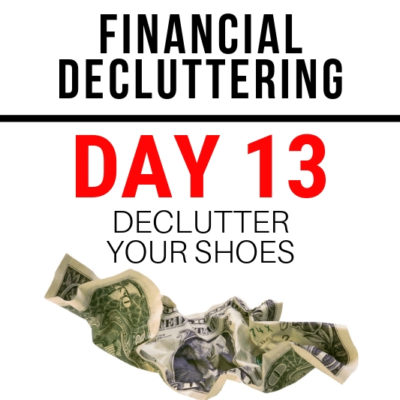 Guess what? You may need to spend more money on shoes! YAY. But first declutter shoes you already own with these easy tips!