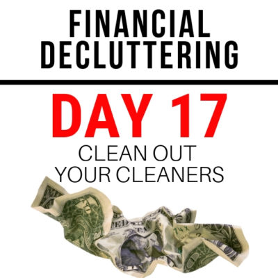 No more half empty bottles! Finally a strategy to help you organize your cleaners that works. Use this challenge to reboot the way you clean!