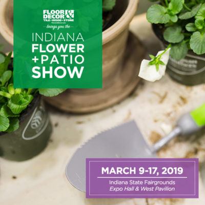 Get an EXCLUSIVE $4 off Coupon for this year's Indiana Flower and Patio Show!