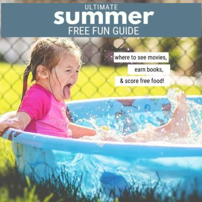 YES. Check out a great FREE Summer Fun Round Up - all of the best summer reading and movie programs, free museum tips, & restaurant freebies!