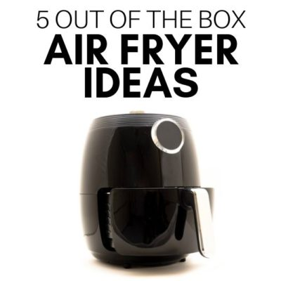 Is an Air Fryer worth it? 5 Out of the Box Air Fryer Ideas will make you want one! Plus how to snag the best deal AND get the most from it.