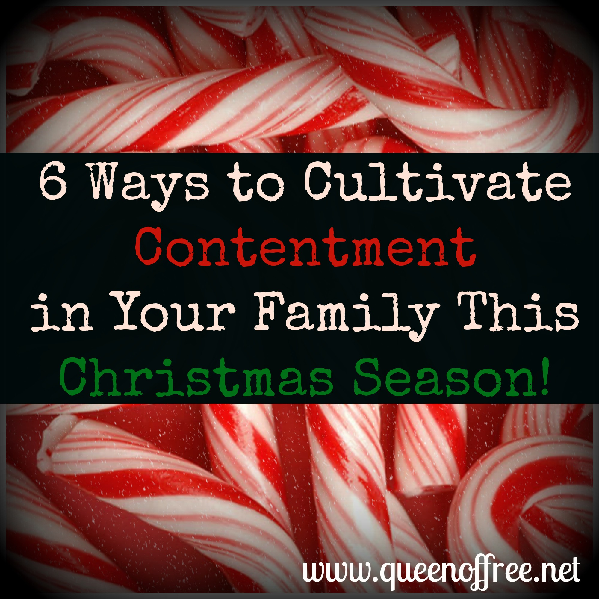 Six Easy Ways to Encourage Your Family to Be Content this Christmas Season